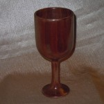 Walnut Goblet